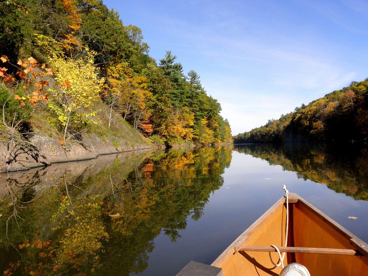 Canoeing Esopus Creek Saugerties
